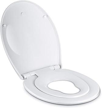Toilettendeckel mit Absenkautomatik WC Sitz Deckel Toilettensitz Klodeckel 2019