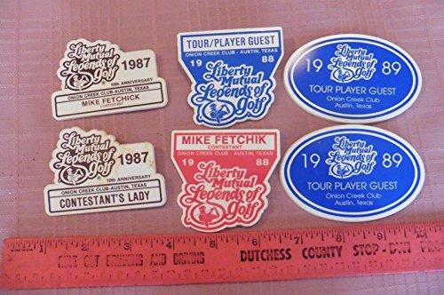 vintage-liberty-mutual-legends-of-golf-pga-senior-name-tags-mike-fetchick-estate