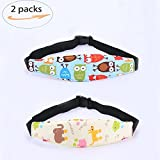 head holder - Aochol 2 Pack Toddler Baby Car Seat Sleeping Head Support Band, Infant Pram Stroller Neck Relief Nap Holder with Adjustable Baby Sleep Positioner