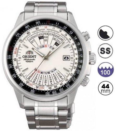 Amazon.com: Black Man Watch Orient Automatic Analog EU07001B: Orient: Watches