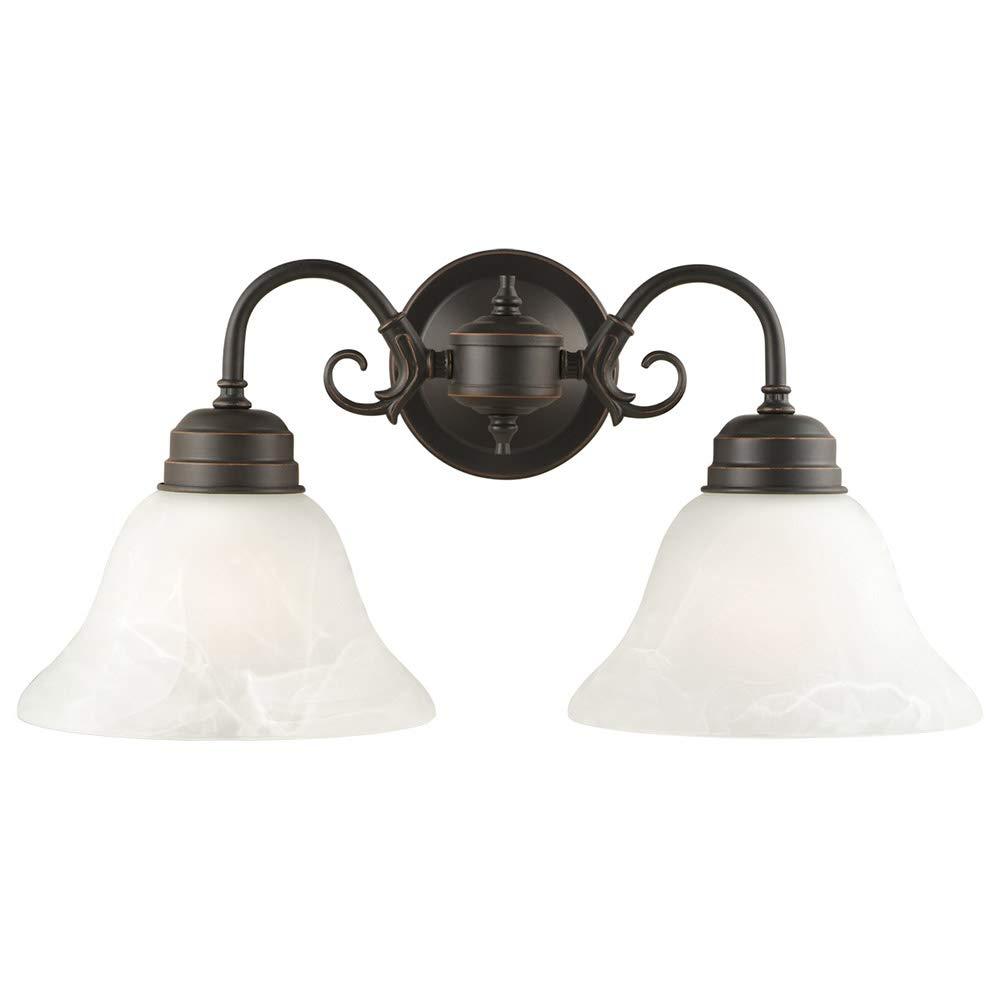 Design house 514471 millbridge 2 light wall light oil rubbed bronze