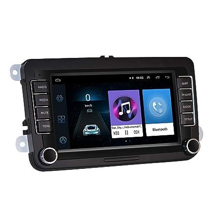 LHNA Navegador para Coche GPS con Pantalla táctil de 7