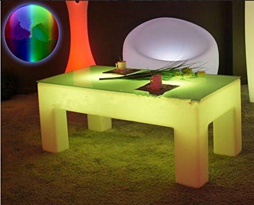 Gowe rectangle lumineux Table basse Table de lumière LED étanche ...