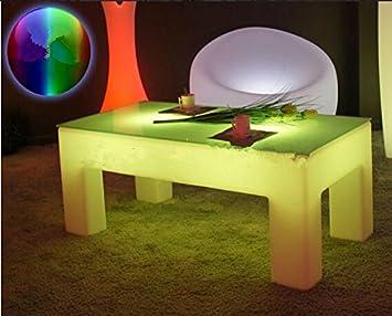 Gowe Rechteck Luminous Couchtisch Led Licht Wasserdicht Wohnzimmer
