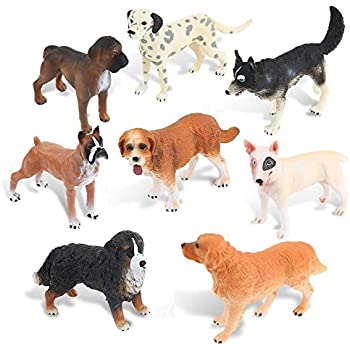 Amazon.com: Plastic Dogs (12) (Various - color may vary