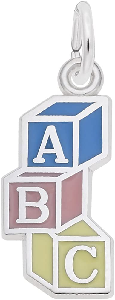 Abc Block Charm Charms...