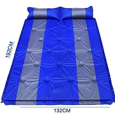 ASL Camping de plein air SUV Lit de voiture commune Coussin gonflable automatique Lit de voiture Lit gonflable Bed Shock voiture Lit de voyage Air Bed qualité ( Couleur : Bleu , taille : 192*132*2.5CM )