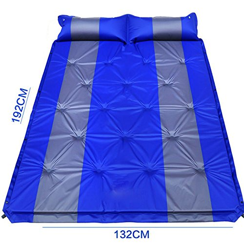 WCUI Outdoor-Camping SUV gemeinsamen Auto-Bett automatisch aufblasbaren Kissen Car Bed aufblasbaren Bett Auto-Schock Bett Reisen Bett Air Bed Wählen