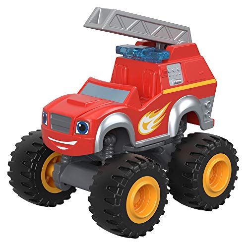 Fisher-Price Nickelodeon Blaze & The Monster Machines, Fire Rescue Blaze Toy, Red (Blaze And The Monster Machines Pickle Power)