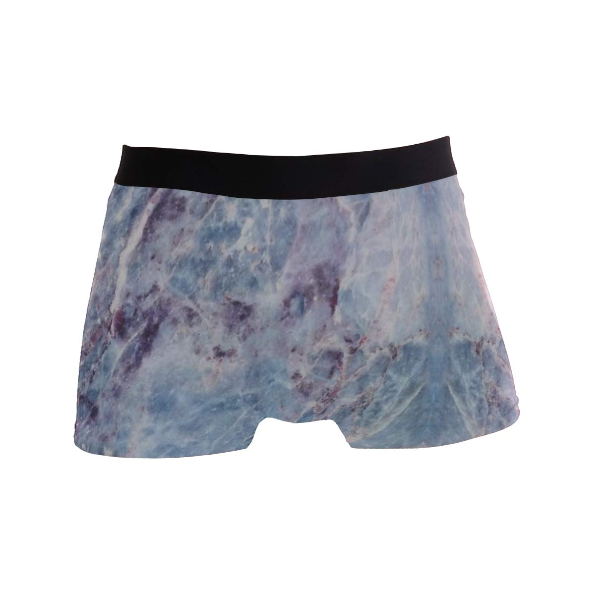 Toddy Astridd Blue Marble Galaxy Mens Sports Performance Shorts Underwear 2 Pack