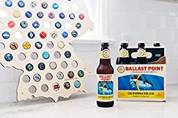 Germany Beer Cap Map - Craft Beer Bottle Cap Holder - Beer Cap Collector