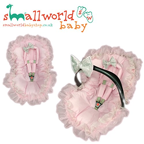 Pink Bling Baby Car Seat Liner Small World Baby Shop