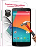 PThink® 0.3mm Ultra-thin Tempered Glass Screen Protector for Google Nexus 5 with 9H Hardness/Anti-scratch/Fingerprint resistant (Google Nexus 5)