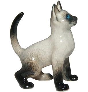 "LITTLE CRITTERZ CAT /""BLAZE/"" SIAMESE KITTEN FIGURINE *Mint Condition*"