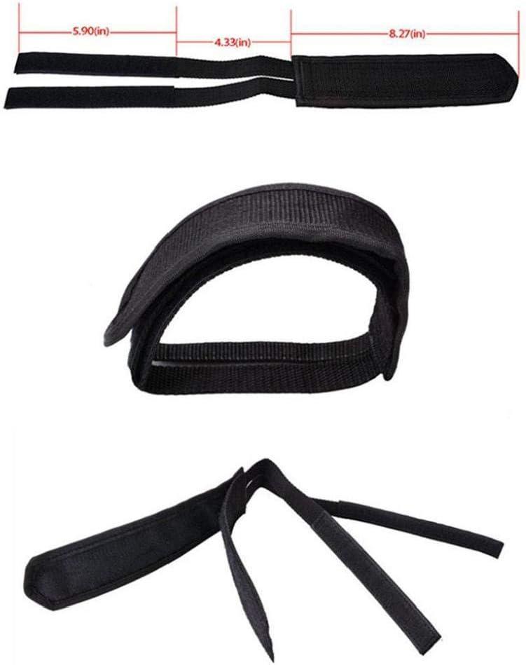 P/édale V/élo Sangles Anti Slip Glissement Tape Pedal Toe Clips Adhesive Sangles pour Fixed Gear Bike Noir 2pcs