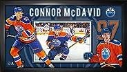 Frameworth Connor McDavid-Framed 10x20 Collage Edmonton Oilers