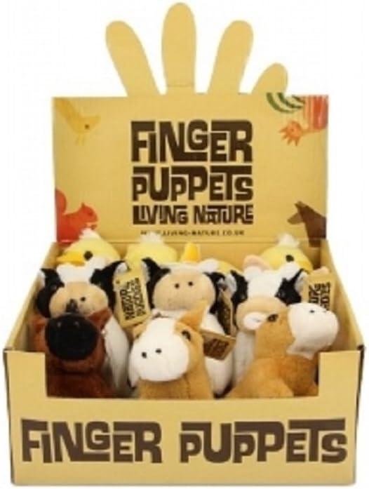 Living Nature Farm Finger Puppets