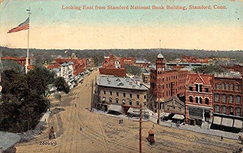 Birdseye View Postcard (Stamford Connecticut Birdseye View Of City Antique Postcard K66085)