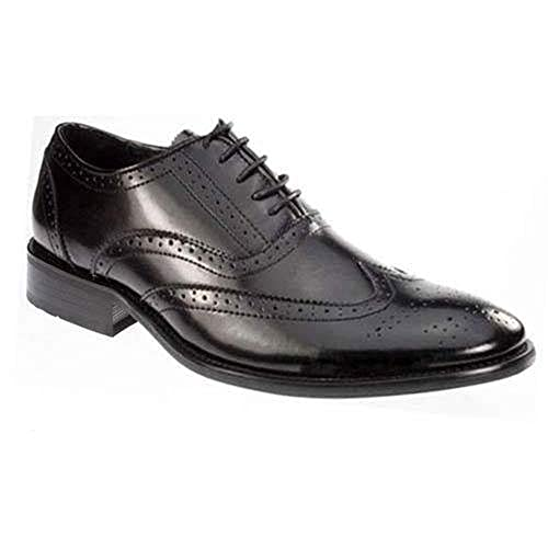 d38dcc0bf15d1f Pierre Cardin Mens Leather Brogue Shoes Italian Formal Office Smart Wedding LACE  UP Shoes Size 7-12: Amazon.co.uk: Shoes & Bags