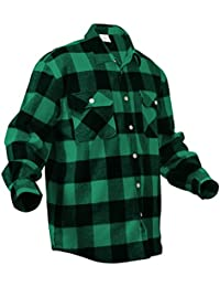 Heavy Weight Plaid Flannel Shirt