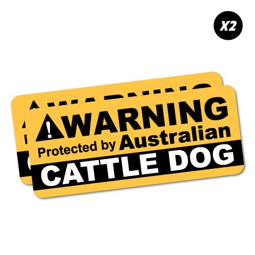 Top 10 Cattledog Laptop Sticker