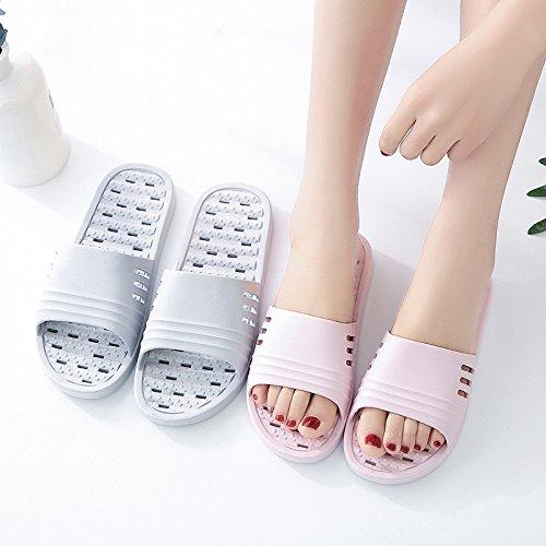 Verano Baño de Antideslizantes para negro de los Piscina la de YMFIE Piscina Amantes de Zapatos Zapatillas TOwpvq4