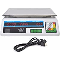 New Digital Deli Meat Food Computing Retail Price Scale 60LB Fruit Produce Counting