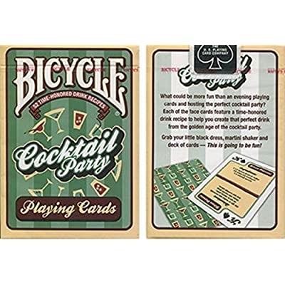 US Playing Card Co. Bicycle Cocktail Party Cards Trick: Toys & Games