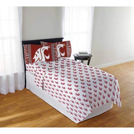 Official Washington State Cougars Mascot Sheet Set Full