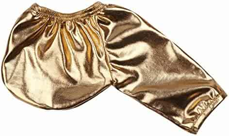 46f737bfbe29 FEESHOW Men's Wet Look Open Sheath C-String Underwear Shiny C Shaped Pouch  Sleeve Briefs