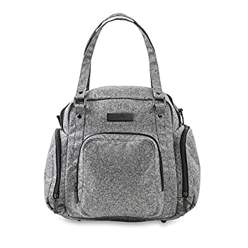 Image of Baby JuJuBe Travel Breast Pump Messenger/Tote Bag Onyx Collection, Gray Matter