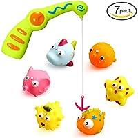 Ohuhu Baby Fishing Bath Toy, Children Kids Toddlers Bath...