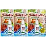 Extracto de Semilla de Toronja Nutribiotic Antimicrobiano Bactericida 100% Natural - PAQUETE DE 3 PIEZAS -