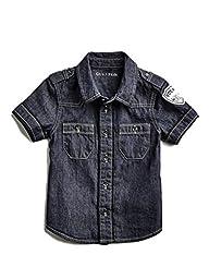 GUESS Factory Xavier Chambray Shirt (2-6)