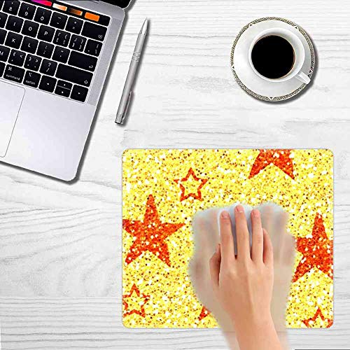 Mouse Pad Rectangle Mouse Pad Stars Wallpaper Durable 320mm240mm3mm ()
