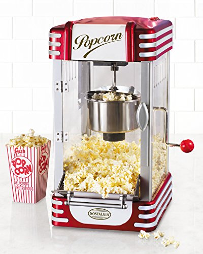 082677136305 - Nostalgia RKP630 Retro Series 2.5-Ounce Kettle Capacity Popcorn Maker carousel main 1