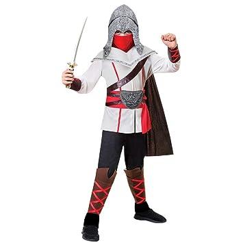 Assassin Ninja Costume - Age 8-10 Years: Amazon.es: Juguetes ...