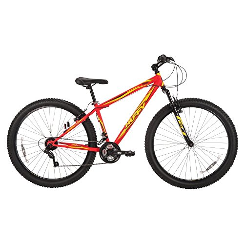 """Huffy Bicycle Company Mens Torch 3.0 Mountain Bike, Matte Neon Red, 29""""/Medium"""