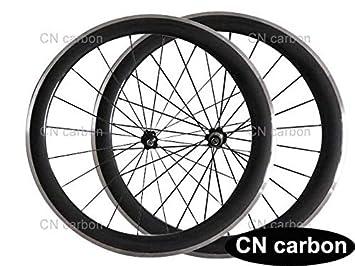 FidgetGear - Rueda de Bicicleta de Carbono para ciclomotor de 50 ...