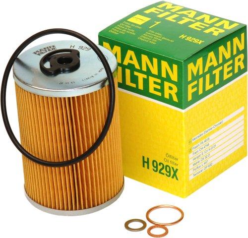 - Mann-Filter H 929 X Oil Filter