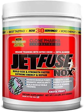 Jet Fuse NOX Clone Pharma 615g - Frutas Exóticas, Clone Pharma