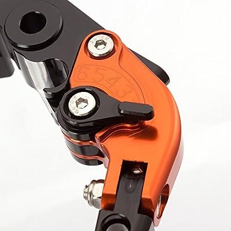 Fxcnc Racing Folding Extendable Adjustable Brake Clutch Levers For Ktm 1090 Adventure R 17 18 Adventure 1050 2016 690 Duke Smc Smcr 690 Enduro R 14 17 Husqvarna 701 Supermoto Enduro 17 19 Auto