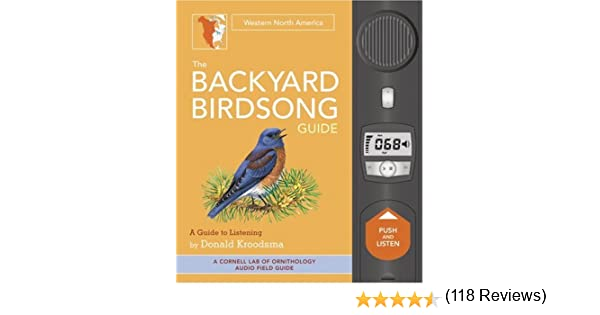 Exceptionnel The Backyard Birdsong Guide: Western North America: Donald Kroodsma:  Amazon.com: Books