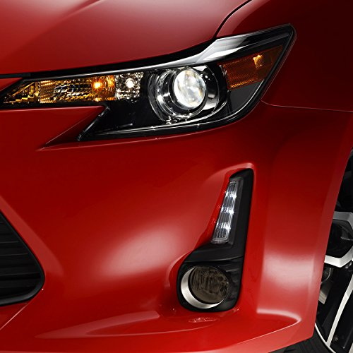 For Smoked 2012-2016 Scion FRS FR-S FT86 Bumper Fog Lights w//Switch Panel Assembly Driver /& Passenger Side ACANII