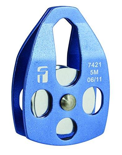 (FallTech 7421 Confined Space Pulley   -  Aluminum Confined Space Pulley, for Up to 3/8