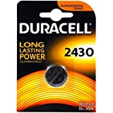 DURACELL Pile-bouton lithium Duracell DL2430 (1 unité sous blister), 3V, Lithium [ Piles bouton (lithium) ]