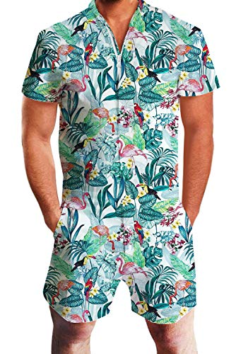 d2a832a50ea7 Uideazone Men Summer Shorts 3D Printed Bro Romper Jumpsuit One Piece Romper  Outfits - Buy Online in Oman.
