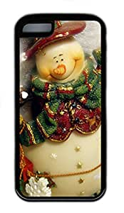 iPhone 5C Case, iPhone 5C Cases - Xmas Doll Polycarbonate Hard Case Back Cover for iPhone 5C¨C Black