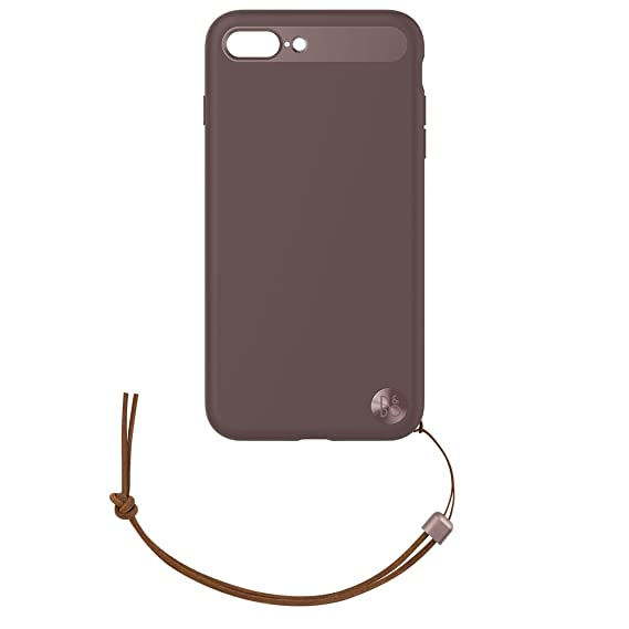 online store 2e5ce b4ad1 B&O Case with Lanyard for iPhone 8 Plus & iPhone 7 Plus - Deep Red