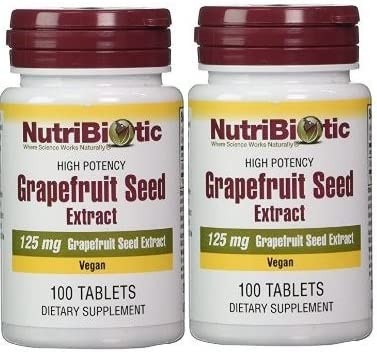 Nutribiotic Gse Tablets, 125 mg, 100 Count 200 Count